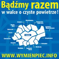 Wymień piec - bannerek akcji informacyjnej