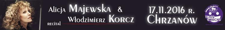 Alicja Majewska i Włodzimierz Korcz w Chrzanowie