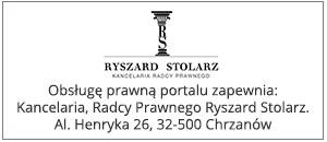 obsługę prawną portalu zapewnia kancelaria prawna świadcząca porady prawne w mieście Chrzanów: Kancelaria,Radcy Prawnego Ryszard Stolarz al. Henryka 26, 32-500 Chrzanów